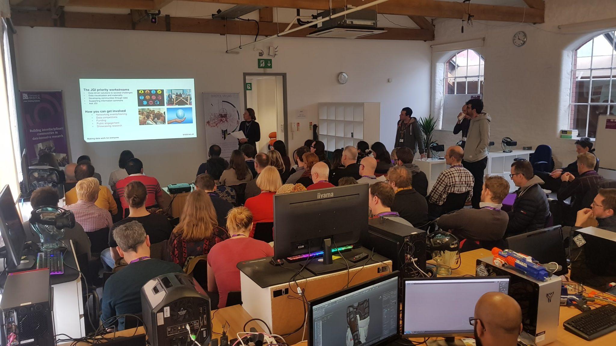 JGI Data Visualisation Challenge – Team Formation Workshop