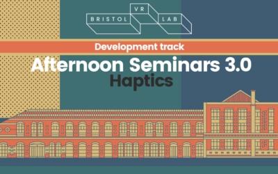 BVRL Afternoon Seminars 3.0  – Haptics