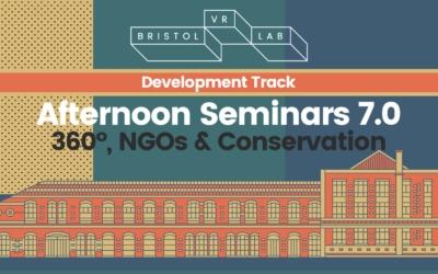 BVRL Afternoon Seminars 7.0 – 360°, NGOs & Conservation
