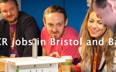 October: Bristol VR Lab's top picks of immersive jobs in Bristol & Bath