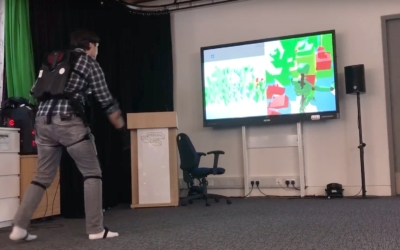 Bristol VR Lab Gets to Grips with the Noitom Perception Neuron Motion Capture Kits