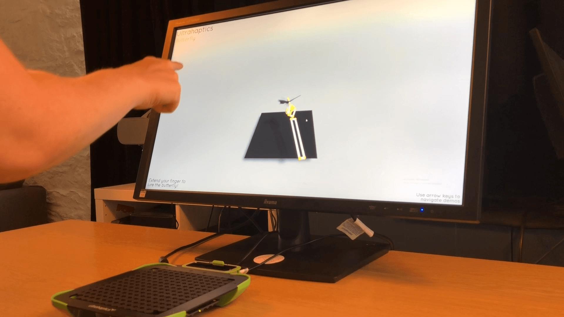 Can touch this! Ultrahaptics development blog