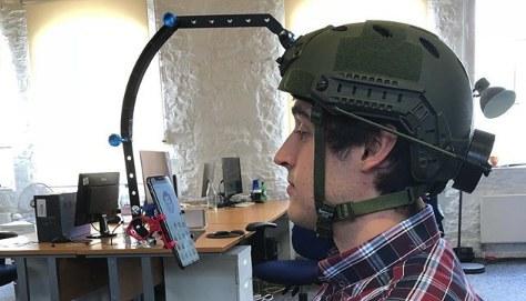 iPhone X facial MoCap with Unity's Facial AR Remote and a helmet rig