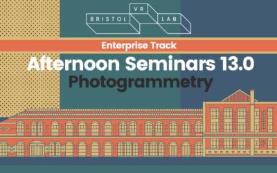 BVRL Afternoon Seminars 13.0 – Photogrammetry